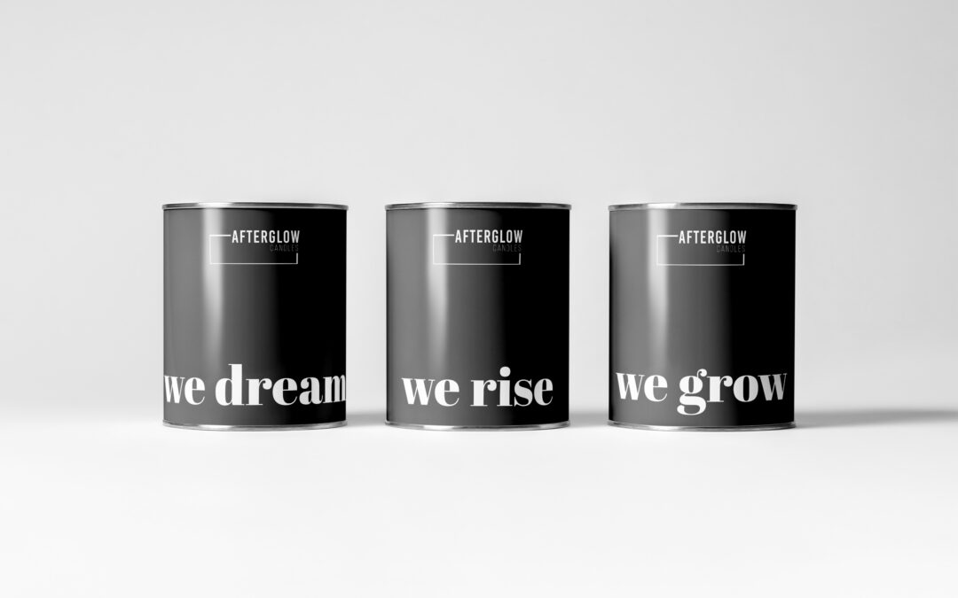 Branding & Design for Afterglow Candles
